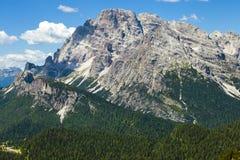 Amazing Alp Mountains Stock Image