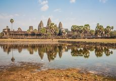 The amazing of Angkor Wat, Cambodia stock photography