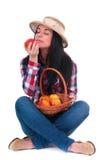 Amazing apples Stock Photo