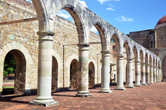 Amazing arches. A great structure with arches, a beautiful landscape Stock Photos