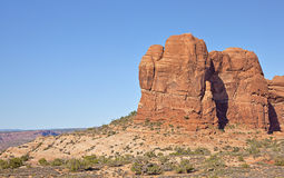 The Amazing Arches state park in Utah Stock Image
