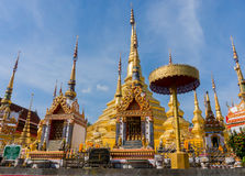Amazing architecture of wat praboro Royalty Free Stock Image
