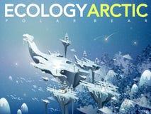 Amazing arctic scenery Stock Photography