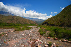 Amazing Argentina landscape in summe Stock Photo