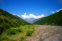 Amazing Argentina landscape in summer day Royalty Free Stock Photography