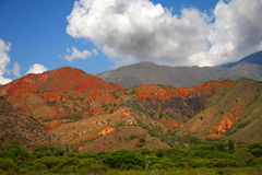 Amazing Argentina landscape in summer day Stock Images
