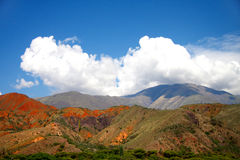 Amazing Argentina landscape in summer day Stock Photos