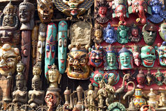 Amazing artefacts. It is really an amazing world heritage site, designated by UNESCO, Kathamandu, the Capital city of a happy country, Nepal. It has the most Stock Photography