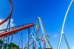 Amazing attraction park. royalty free stock photos