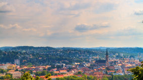 Amazing Austrian City of Graz Royalty Free Stock Photo