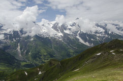 Amazing Austrian Landscape of the alps Royalty Free Stock Photos