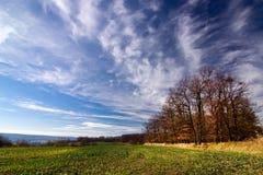 Amazing autumn countryside Royalty Free Stock Photos