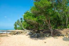 Amazing barra grande beach in Peninsula do Marau. Amazing barra grande beach located at the Ponta do Muta Brazil stock photo