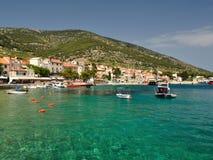 Amazing beach in Bol on island Brac, Croatia Royalty Free Stock Photography