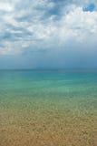 Amazing beach Greece Sarti Stock Image