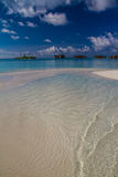 Amazing beach landscape in Maldives Stock Images