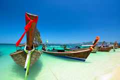 Amazing beach landscape in Thailand Royalty Free Stock Photos