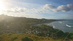 Amazing beach in NZ Stock Photo