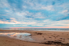 Amazing Beach View, Baltic Sea Royalty Free Stock Images