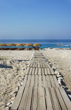 Amazing beaches of Dhermi, Albania Stock Images