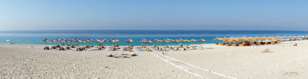 Amazing beaches of Dhermi, Albania Stock Photo