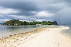 Amazing beaches of El Nido, Palawan, Philippines stock photography