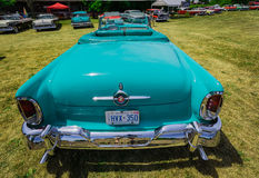 Amazing beautiful closeup rear view of classic vintage retro car Stock Photography