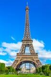 Amazing beautiful Eiffel Tower in Paris Stock Photography