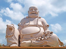 Amazing big buddha statue on Cam mountain Royalty Free Stock Image