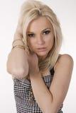 Amazing blond Stock Photography