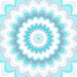 Amazing blue colored floral background Royalty Free Stock Image