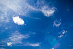 Amazing blue sky Stock Photos