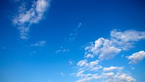 Amazing blue sky from egypt 5 royalty free stock photography