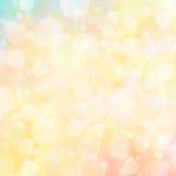 Amazing bokeh background Royalty Free Stock Images