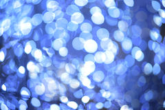 Amazing bokeh of christmas Royalty Free Stock Images