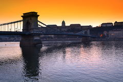 Amazing Budapest view Royalty Free Stock Photo