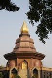 Buddhist architecture of Trat Thailand Stock Image