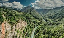 Amazing canyon. Landscape of Montenegro Amazing canyon Royalty Free Stock Photography