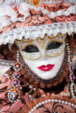 Amazing carnival masks in Venice, Italy Stock Image