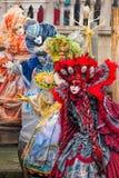 Amazing carnival masks in Venice, Italy Royalty Free Stock Photos
