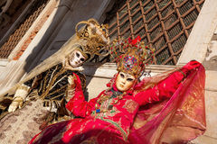 Amazing carnival masks in Venice, Italy Royalty Free Stock Image