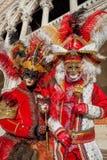 Amazing carnival masks in Venice, Italy Royalty Free Stock Photo