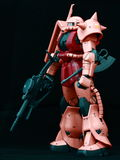 Amazing Chars Zaku on black background Royalty Free Stock Image