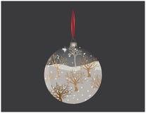 Amazing Christmas ball Stock Image