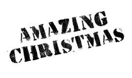 Amazing Christmas rubber stamp Stock Photo
