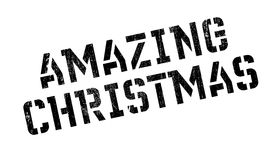 Amazing Christmas rubber stamp Royalty Free Stock Photo