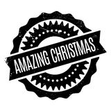 Amazing Christmas rubber stamp. Grunge design with dust scratches. Effects can be easily removed for a clean, crisp look. Color is easily changed Stock Photos