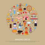 Amazing Circus Concept Royalty Free Stock Image