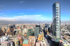 Amazing City Aerial shot Royalty Free Stock Photo