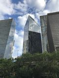 High buildings of the beauty Chicago royalty free stock image